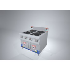 KRID1400HM4- Induction Cooker 4 stove