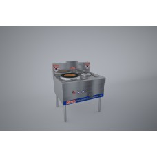 gas stove 1 kitchen pan 1 fan (heat  cast iron) KRGS1B1C10QĐ