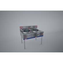 Gas cooker 2 kitchen (cast iron) KRGS2B12G